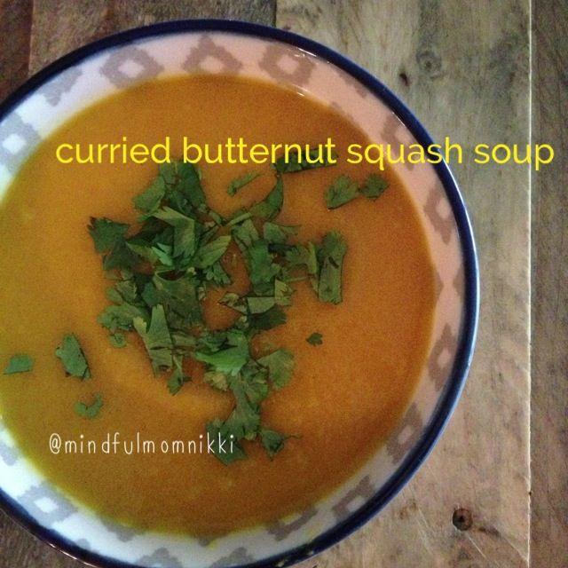 Curried butternut squash soup | Soups | Pinterest