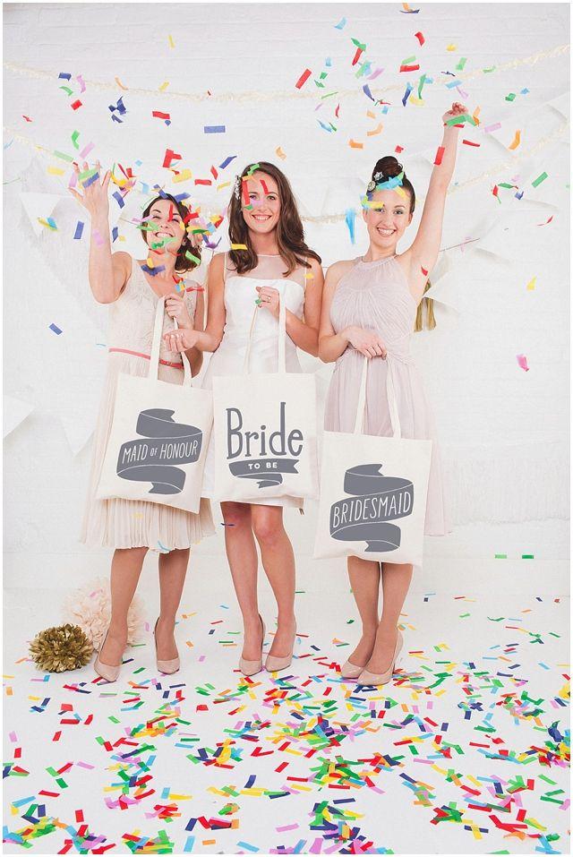 Confetti // Bridal Party Shoot