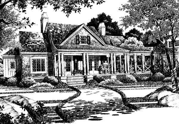 lakeside cottage house plan ideas pinterest