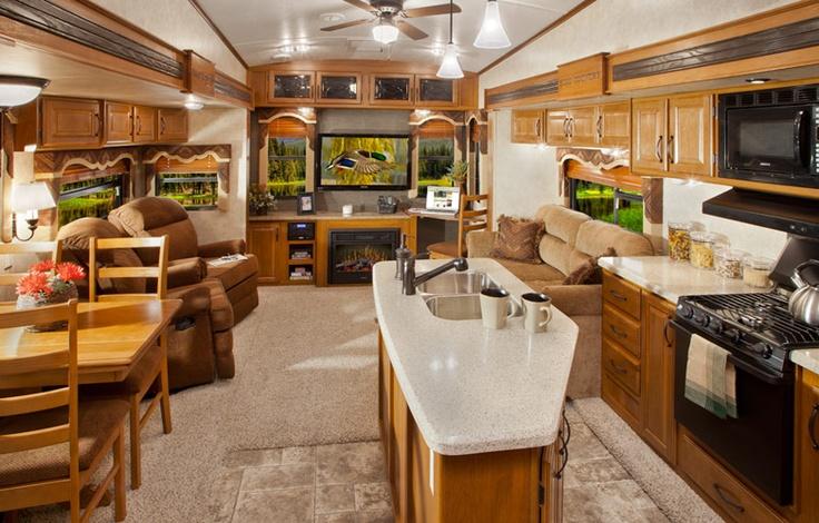 Montana 5th Wheel Interior RV LIVING Pinterest