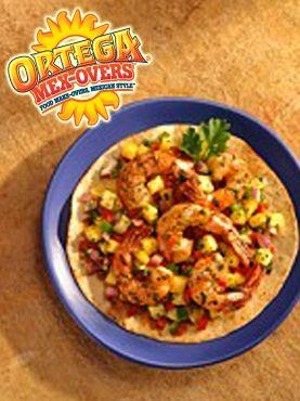 Shrimp and crab tostadas. Add chipotle aioli