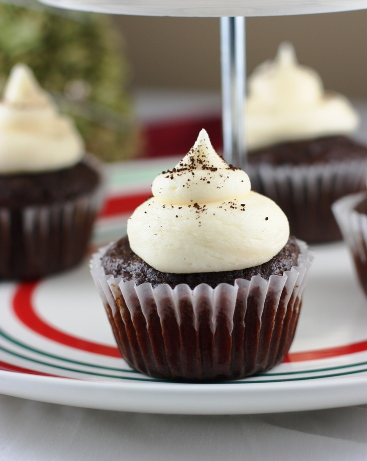 Eggnog Latte Cupcakes | Recipes to try | Pinterest