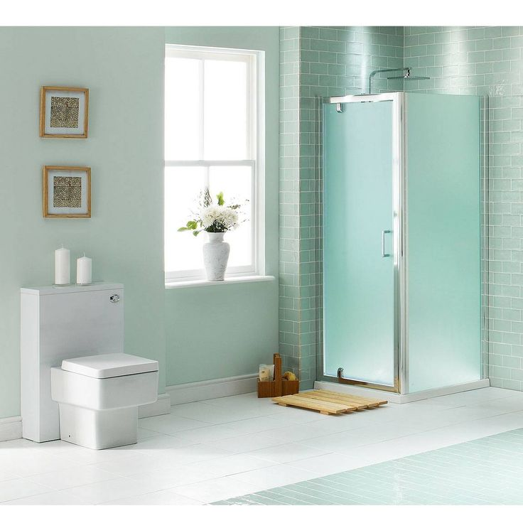 Comvictoria Plumb Bathrooms : Pivot Frosted Glass Enclosure 800 x 900 - Now £199. www.victoriaplumb ...