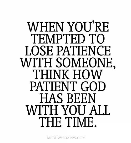 God Patience Quotes. QuotesGram
