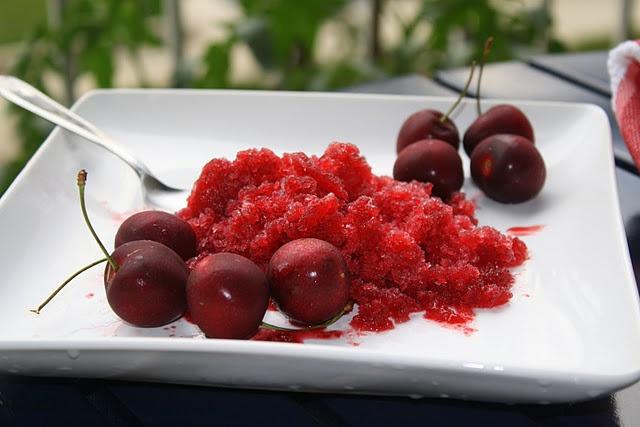 Sour Cherry Granita Recipes — Dishmaps