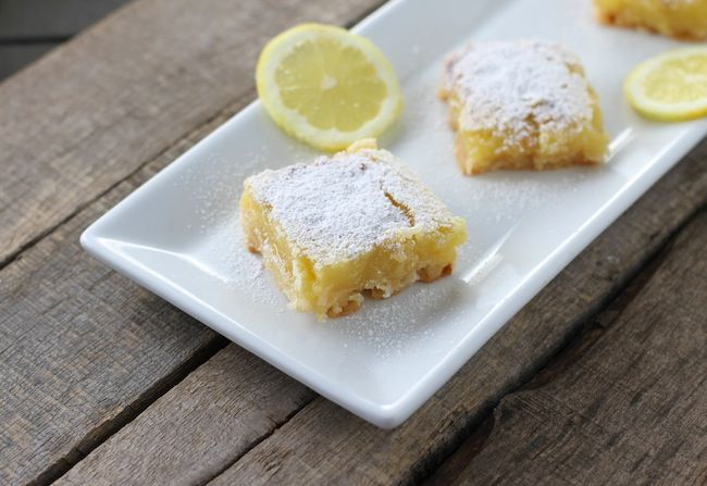 Gluten Free Coconut Lemon Bars #glutenfree