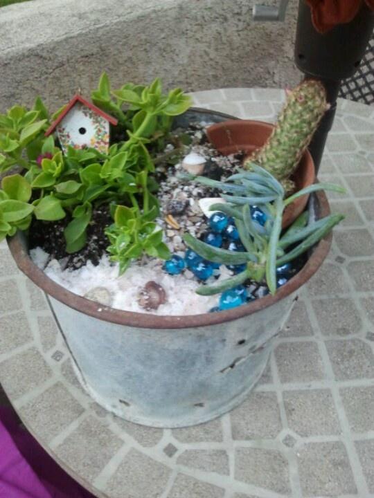 Rylies Beach Themed Fairy Garden   Garden   Pinterest