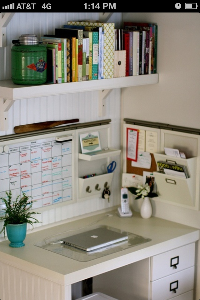 Office organizing ideas pinterest - How to organize an office desk ...