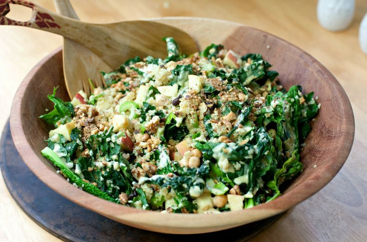 Crunchy Cabbage And Chickpea Salad Recipe — Dishmaps