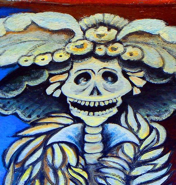 San francisco mission mural dia de los muertos pinterest for Dia de los muertos mural