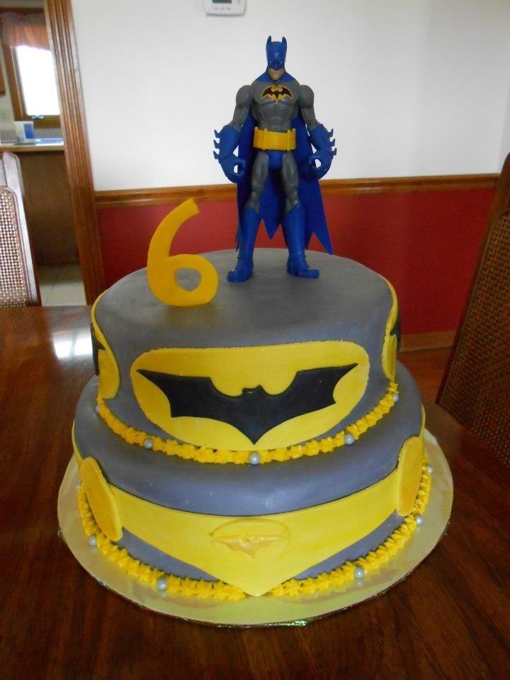 Cake Decorating Batman Cake Ideas : Batman Cake Birthday cake ideas Pinterest