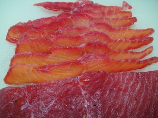 Maryam's Culinary Wonders: 281. Gravlax: Beetroot Cured Salmon