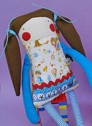 Волосы для куклы из пряжи мастер класс - 4c