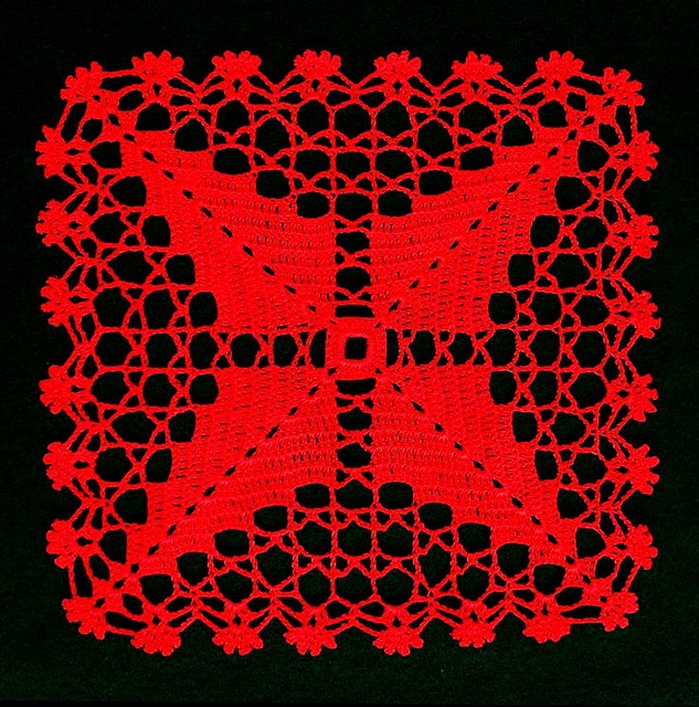 Charted Doily