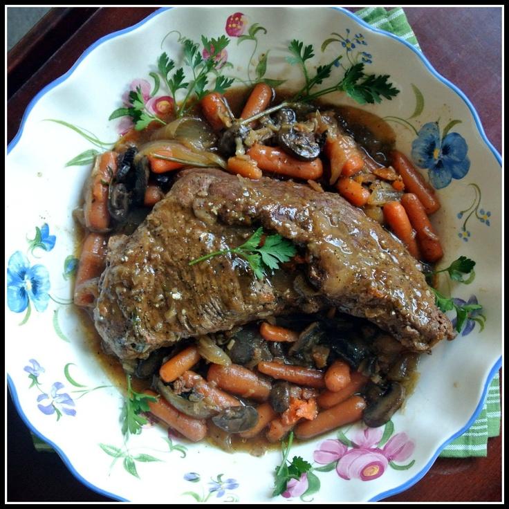Crock-Pot Beef Roast. | Where's the Beef | Pinterest