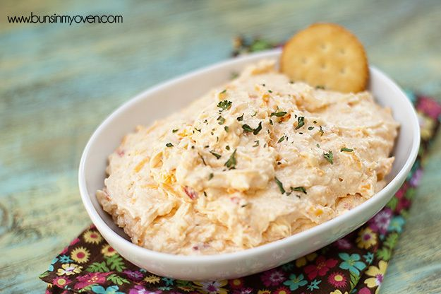 Pimento cheese dip Amazing Party Dips For Football Season