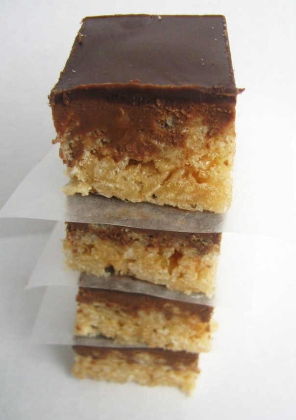 Peanut Butter Chocolate Crispy Bars | Cookies, Bars, and Candy | Pint ...