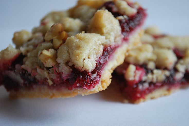 cranberry bars - Yummy and healthy - only 133 calories!