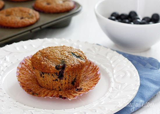 """""""insanely good blueberry oatmeal muffins"""""""