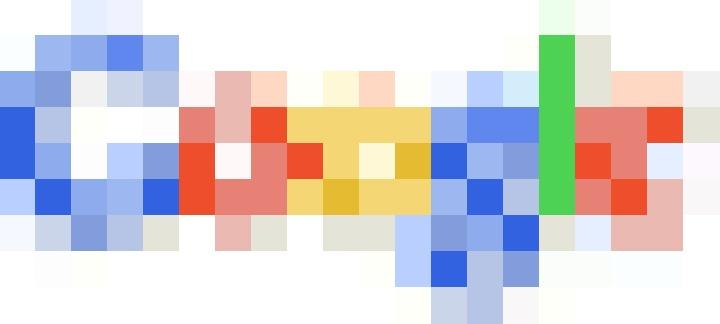 Google Logo, 8-Bit Image