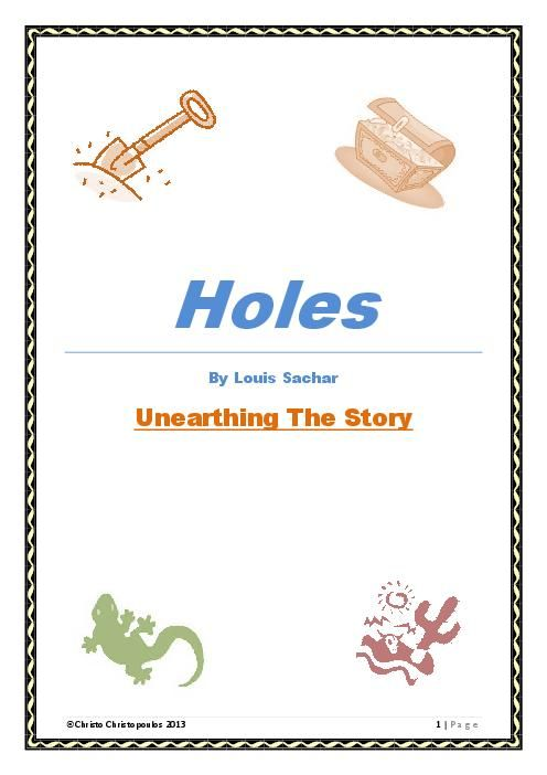 Holes By Louis Sachar Essay
