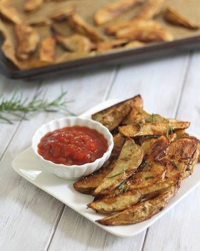 Crispy Seasoned Oven Fries Recipe — Dishmaps