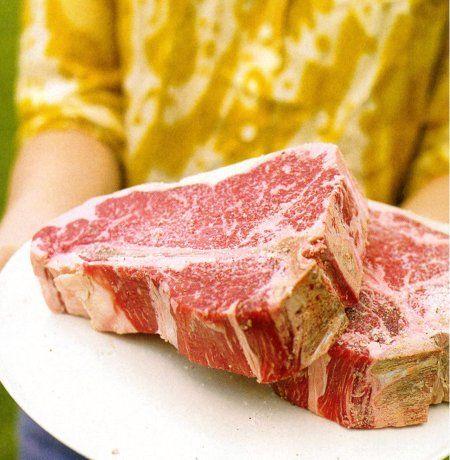... Like Here @ LeMaitreD.com ----- > ----- Grilled Porterhouse Steaks