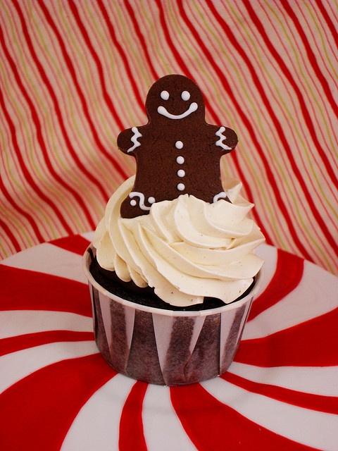 Gingerbread Chocolate Stout Cupcake Iron Cupcake Earth Challenge ...