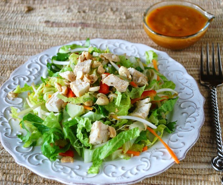 Sweet Chili Chicken Salad | Yummy Salads | Pinterest