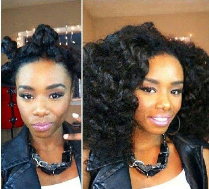basket weave hairstyle : Bantu Knots Beautiful Hair Styles Pinterest