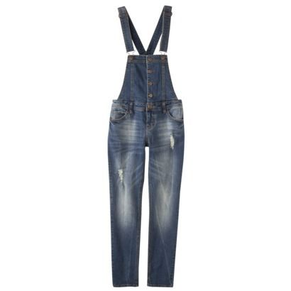 Xhilaration® Juniors Denim Overall - Assorted Washes $30