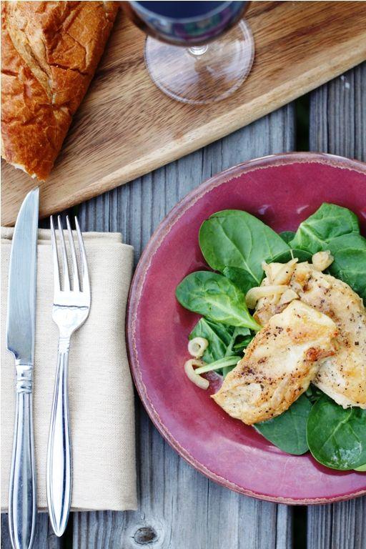 Chicken scaloppine.   Recipes - Chicken   Pinterest