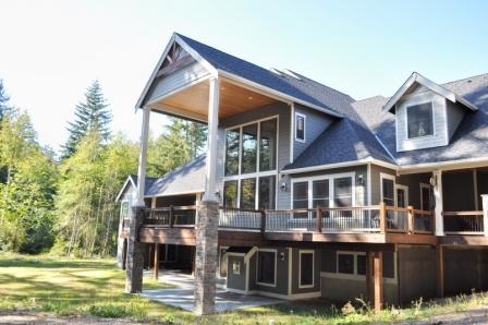 Deck Daylight Basement Dream House Pinterest