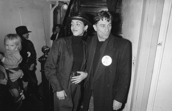 Robert De Niro With Da...