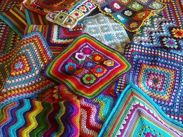 Люблю эти бабушки квадраты!