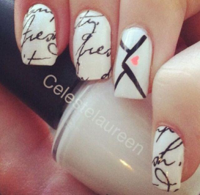 Nail Designs Letters - Nail Arts