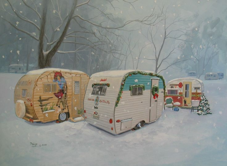 Sisters on the fly sotf vintage travel trailer rv for Airstream christmas decoration