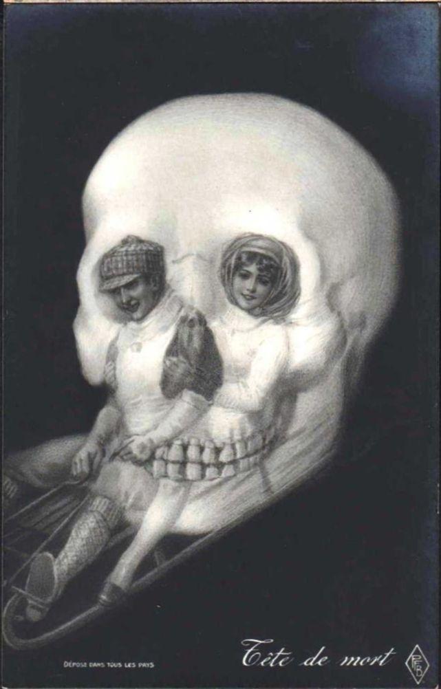 1280x1024 skull optical illusion - photo #11
