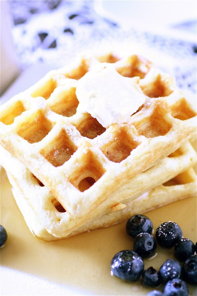Belgian Waffles | BREAKFAST | Pinterest