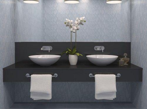 mooie wasbak  toilet room  Pinterest