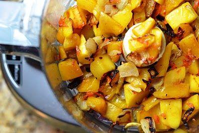Roasted Mango and Habanero Salsa!