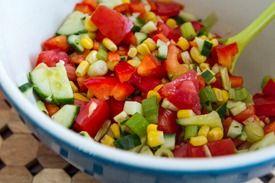 Speedy Summer Hemp Power Salad ... | Recipes - Salads & Veggies | Pin ...