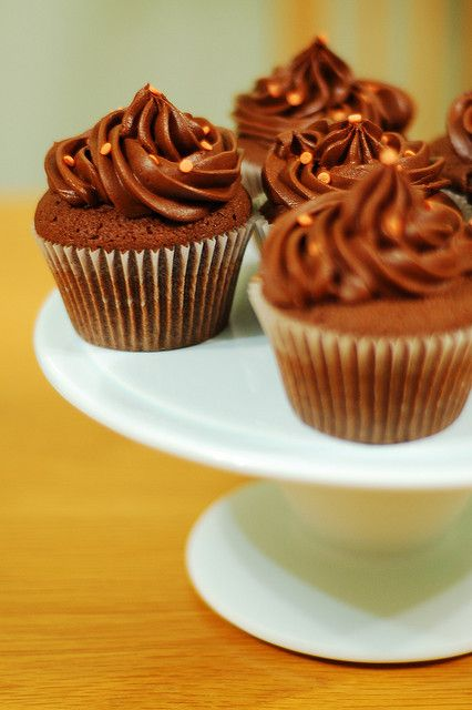 chocolate orange cupcakes - Rachel Allen #cupcakes