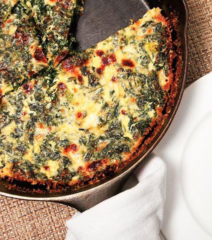 Easy Kale Quiche. | Looks yummy..... | Pinterest