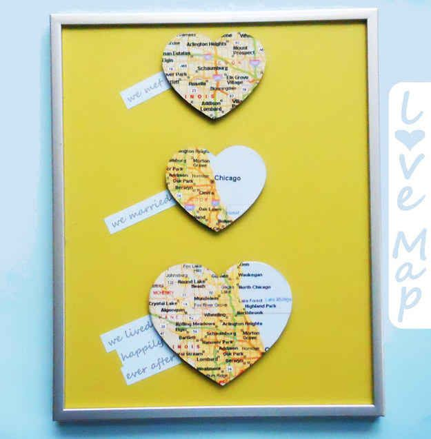 Wedding Gift Ideas Easy : Or their love story: 14 Easy And Inexpensive Wedding Gift Ideas