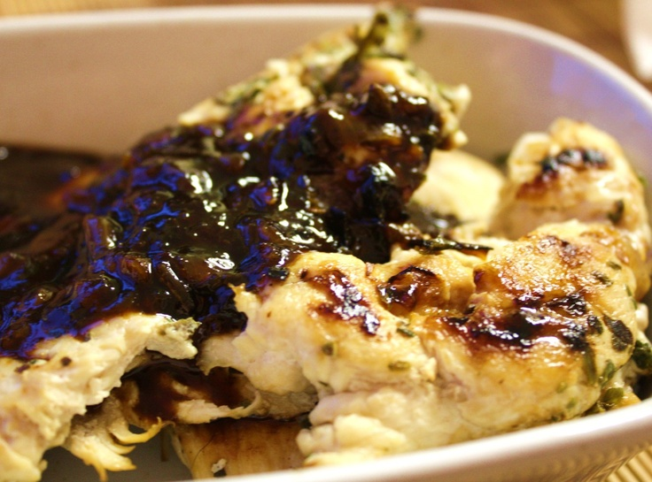 Apricot - Balsamic Chicken | Recipes to try | Pinterest