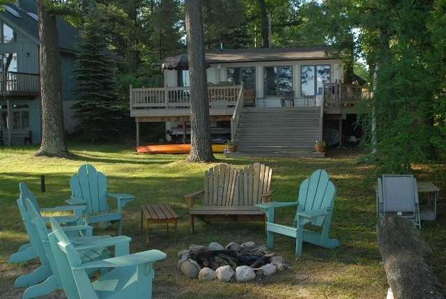 Cottage on the South end of Torch Lake in Michigan -- the perfect
