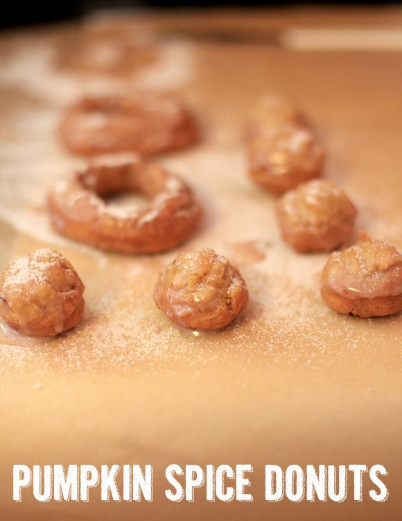 Pumpkin Spice Donuts | Food for Thought | Pinterest