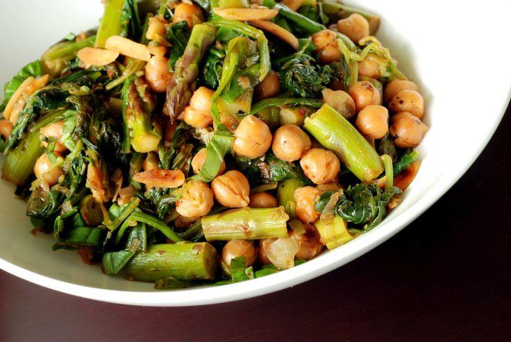 Lemony Chickpea Stir Fry #vegan #vegetarian #meatless #recipe #food # ...