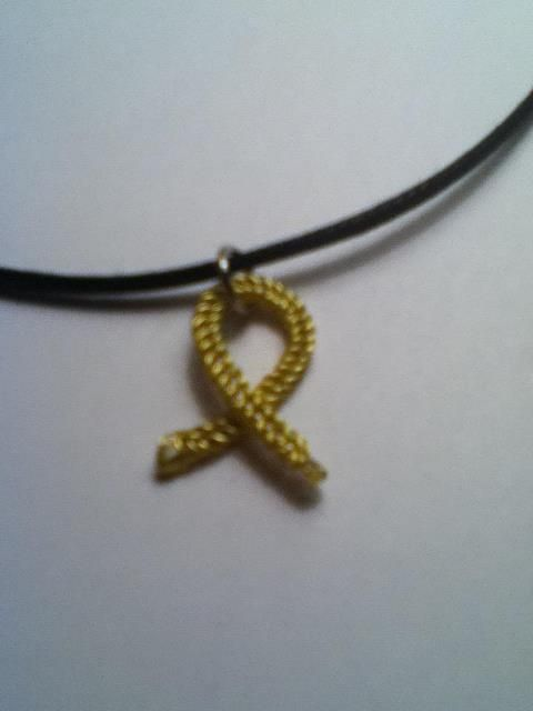 spina bifida awareness necklace